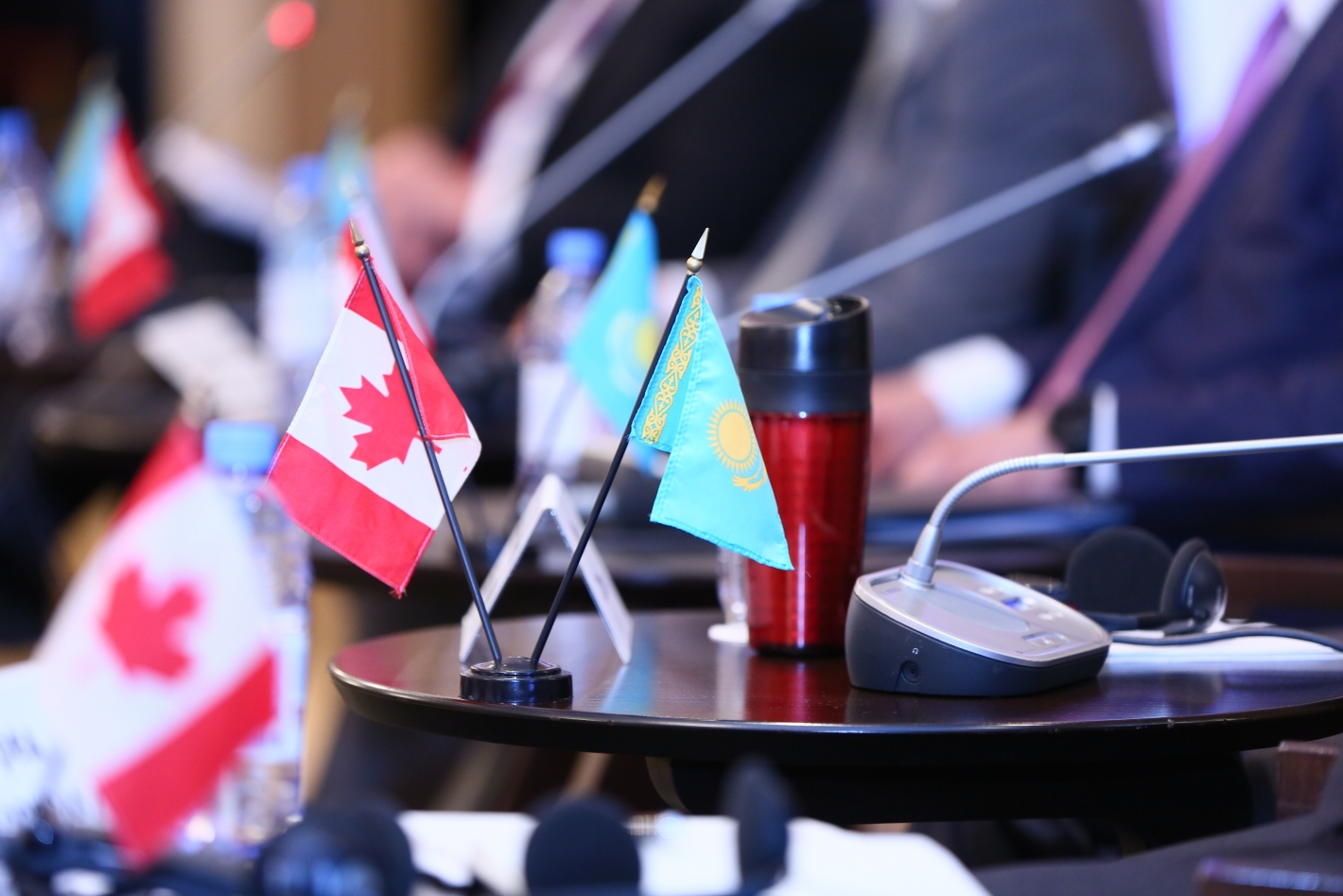 IV session of the Kazakhstan-Canadian Business Council