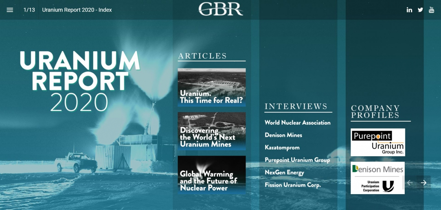 Kazatomprom in Global Business Reports